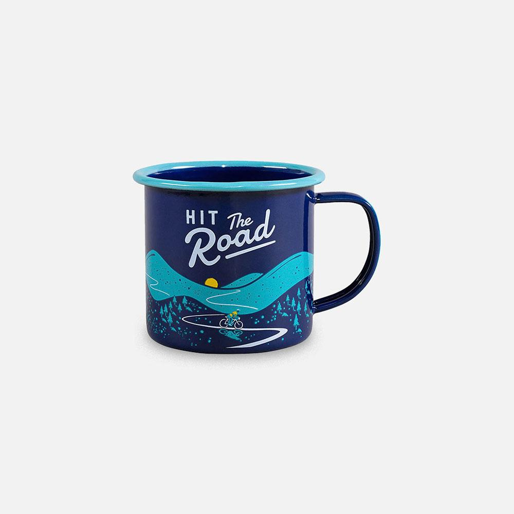 Wild+Wolf - Hit the Road Mug front view
