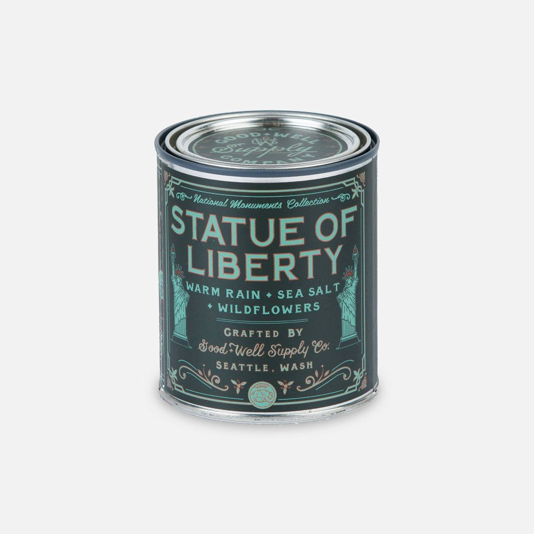 Keyway brings The Statue of Liberty National Monument Candle from Good & Well Supply Co.