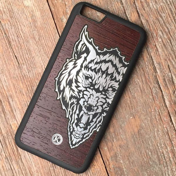 Lobo, Dark - Orozco Design - iPhone 5/5S/SE