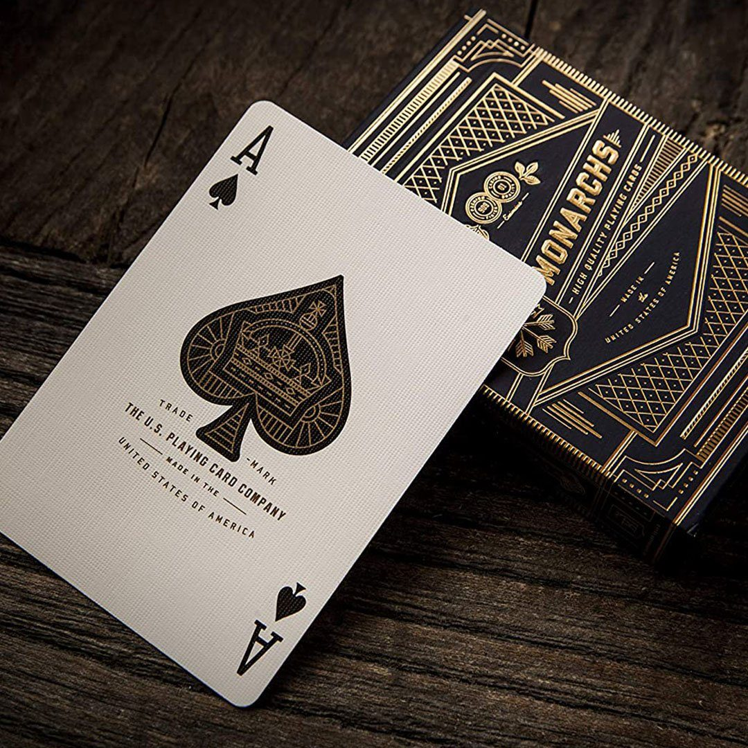 KEYWAY | Theory 11 - Monarchs Premium Playing Cards Ace of Spades