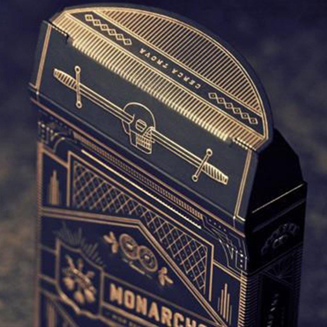 KEYWAY | Theory 11 - Monarchs Premium Playing Cards detailed top flap print