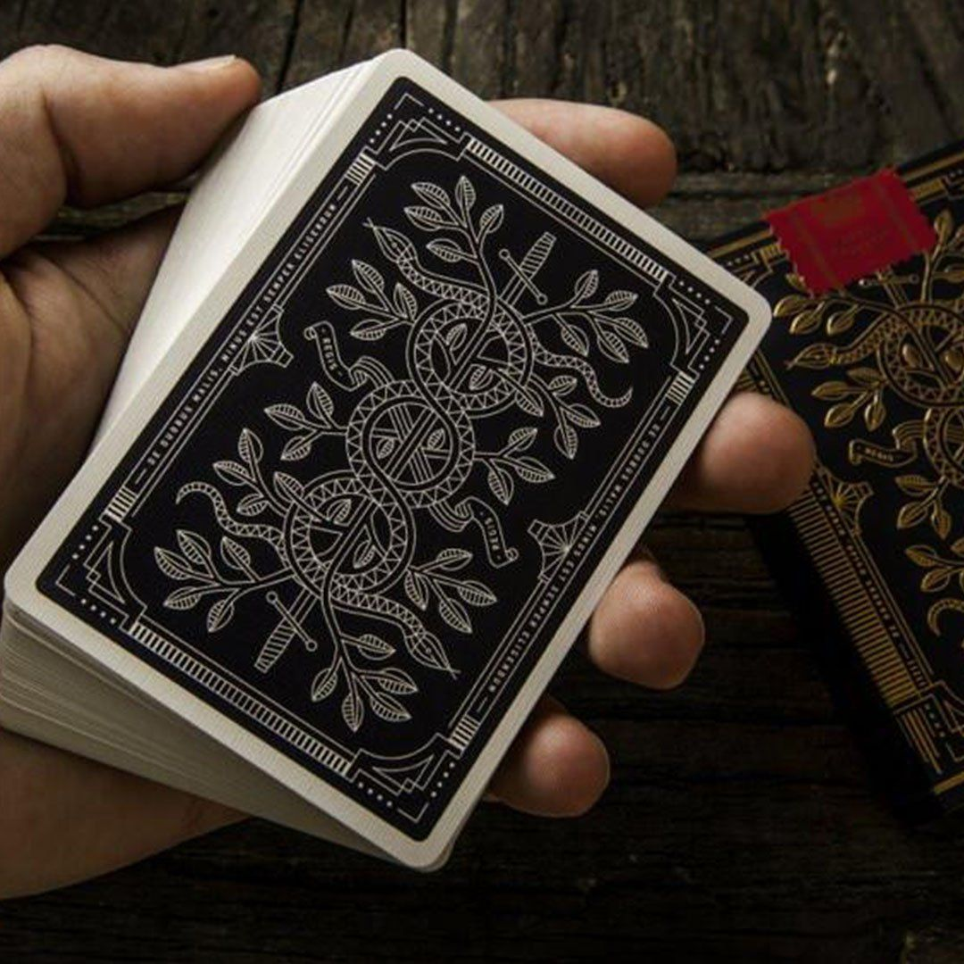 KEYWAY | Theory 11 - Monarchs Premium Playing Cards detailed card back print