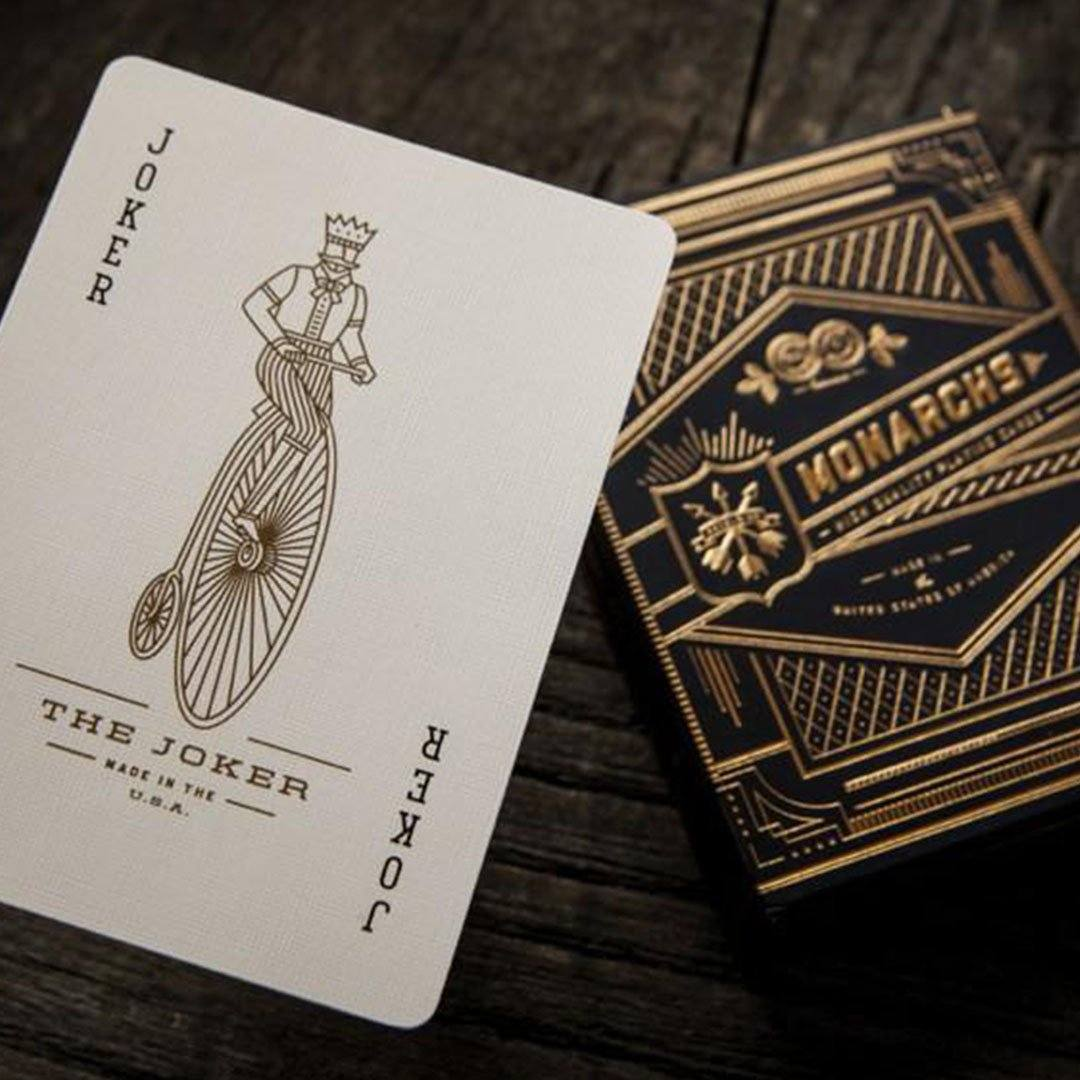 KEYWAY | Theory 11 - Monarchs Premium Playing Cards unique joker cards