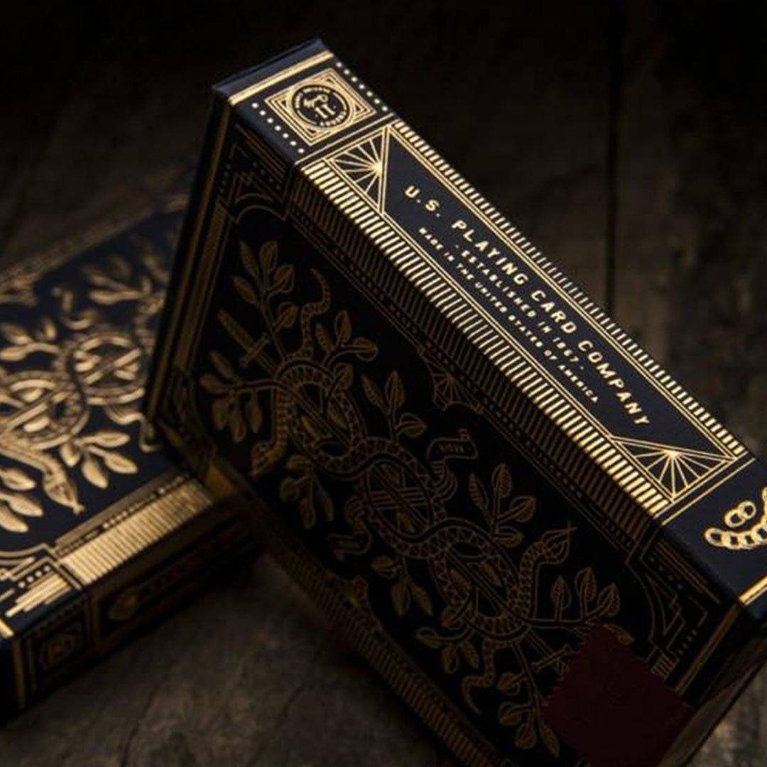 KEYWAY | Theory 11 - Monarchs Premium Playing Cards detailed card box print