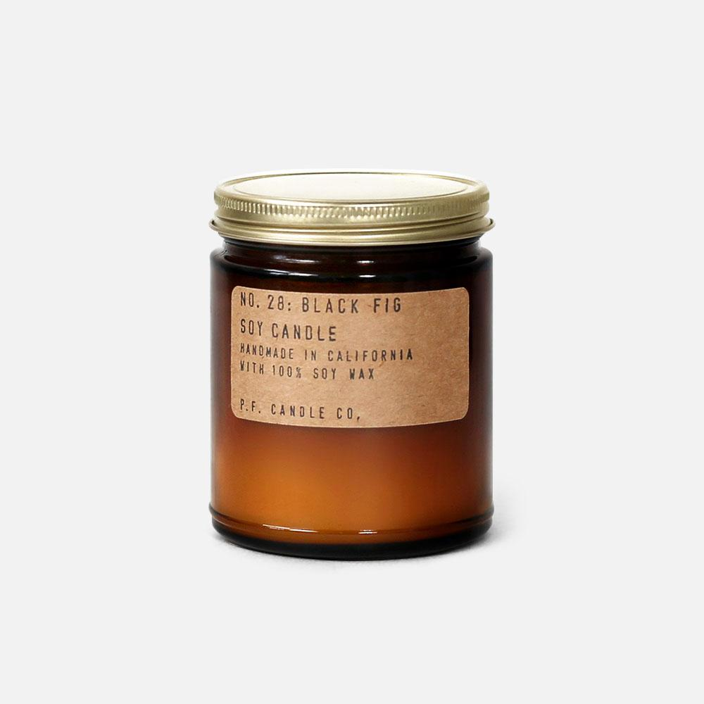 P.F. Candle - No.28: Black Fig Soy Wax Jar Candle
