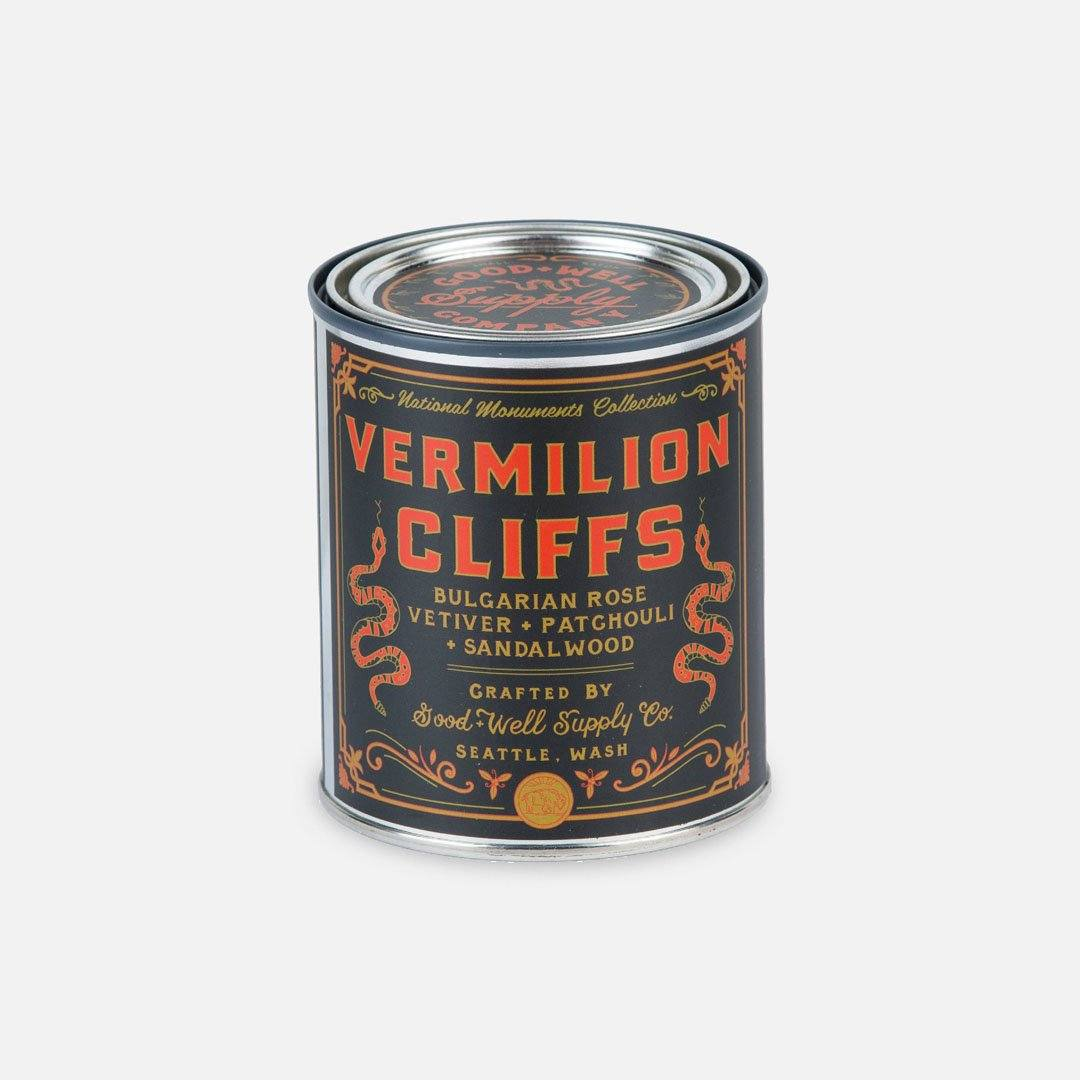 Keyway brings The Vermillion Cliffs National Monument Candle from Good & Well Supply Co.