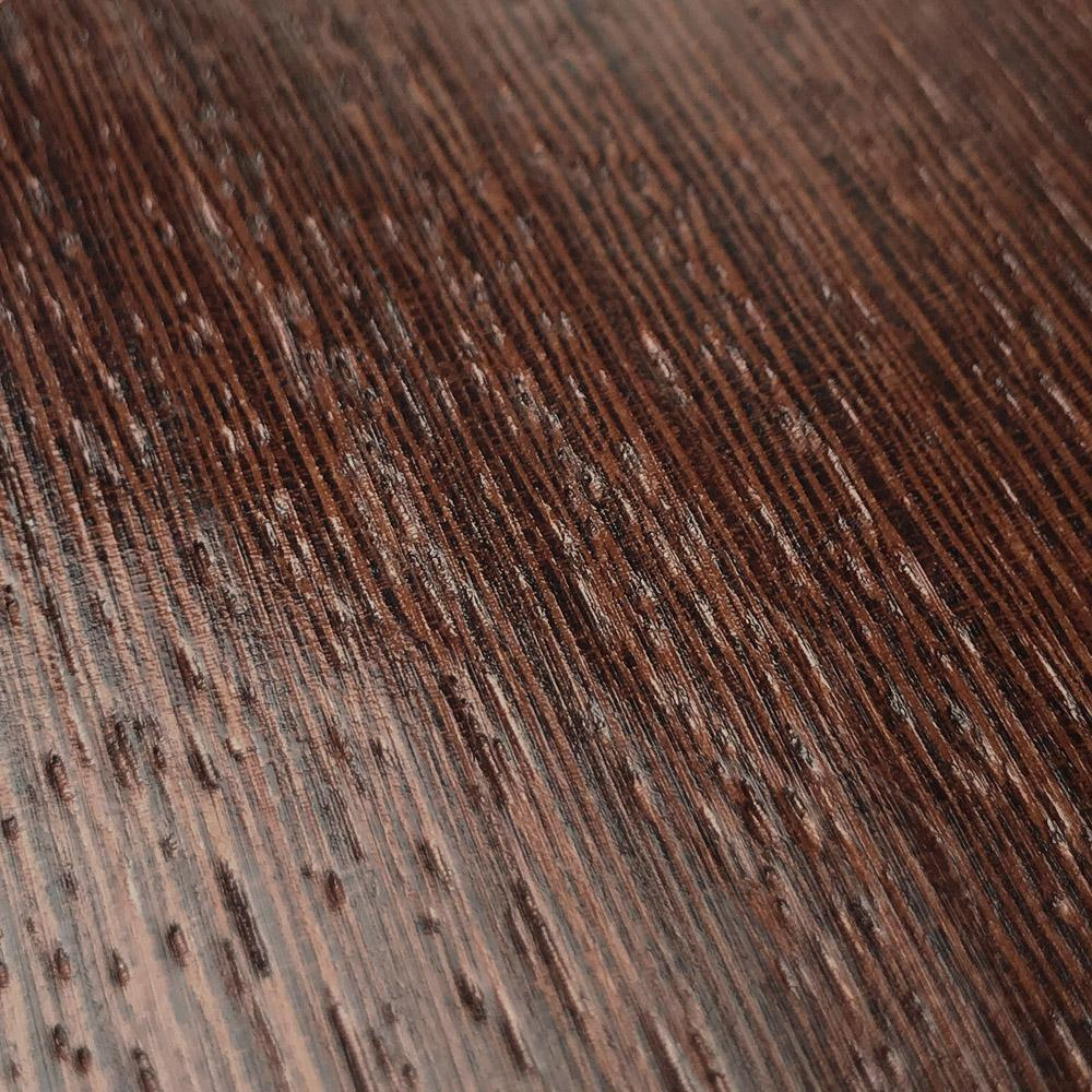 Zoomed in detailed shot of the Wenge Pure Minimalist Wood iPhone 11 Pro Case by Keyway Designs