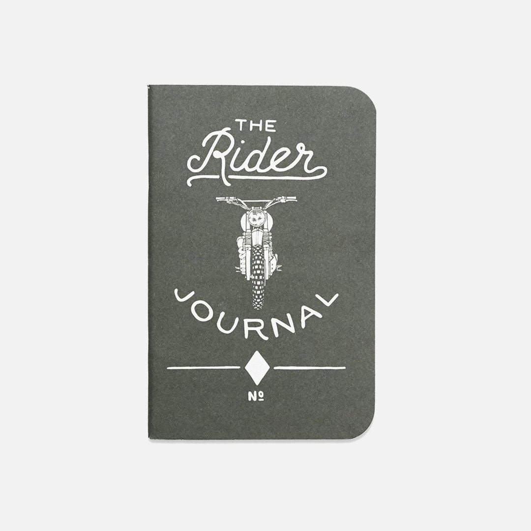Word. - Rider Journal, USA Made Pocket Notebook, Front View