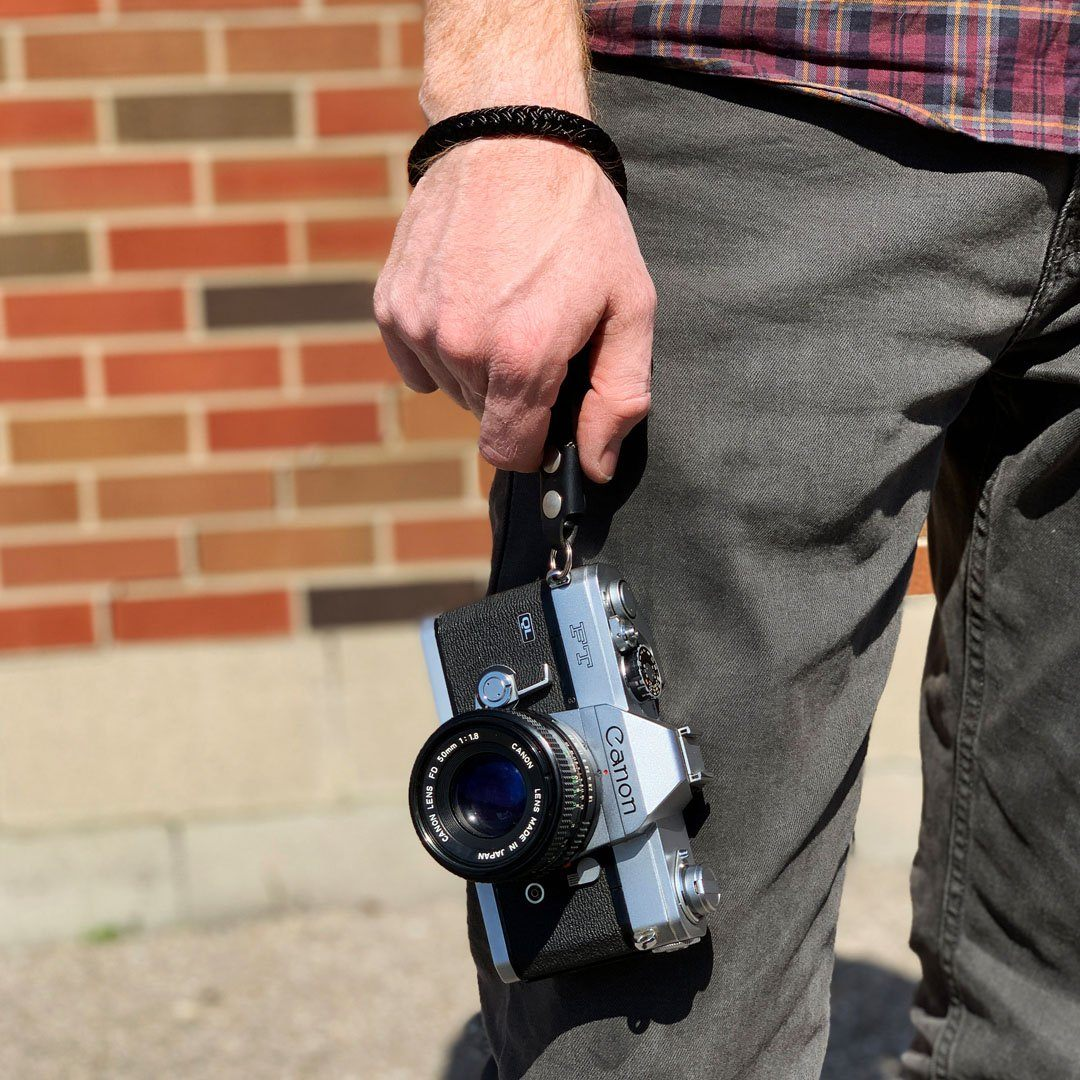 Keyway Camera Wrist Strap, Designed to keep your camera safe and close-by.