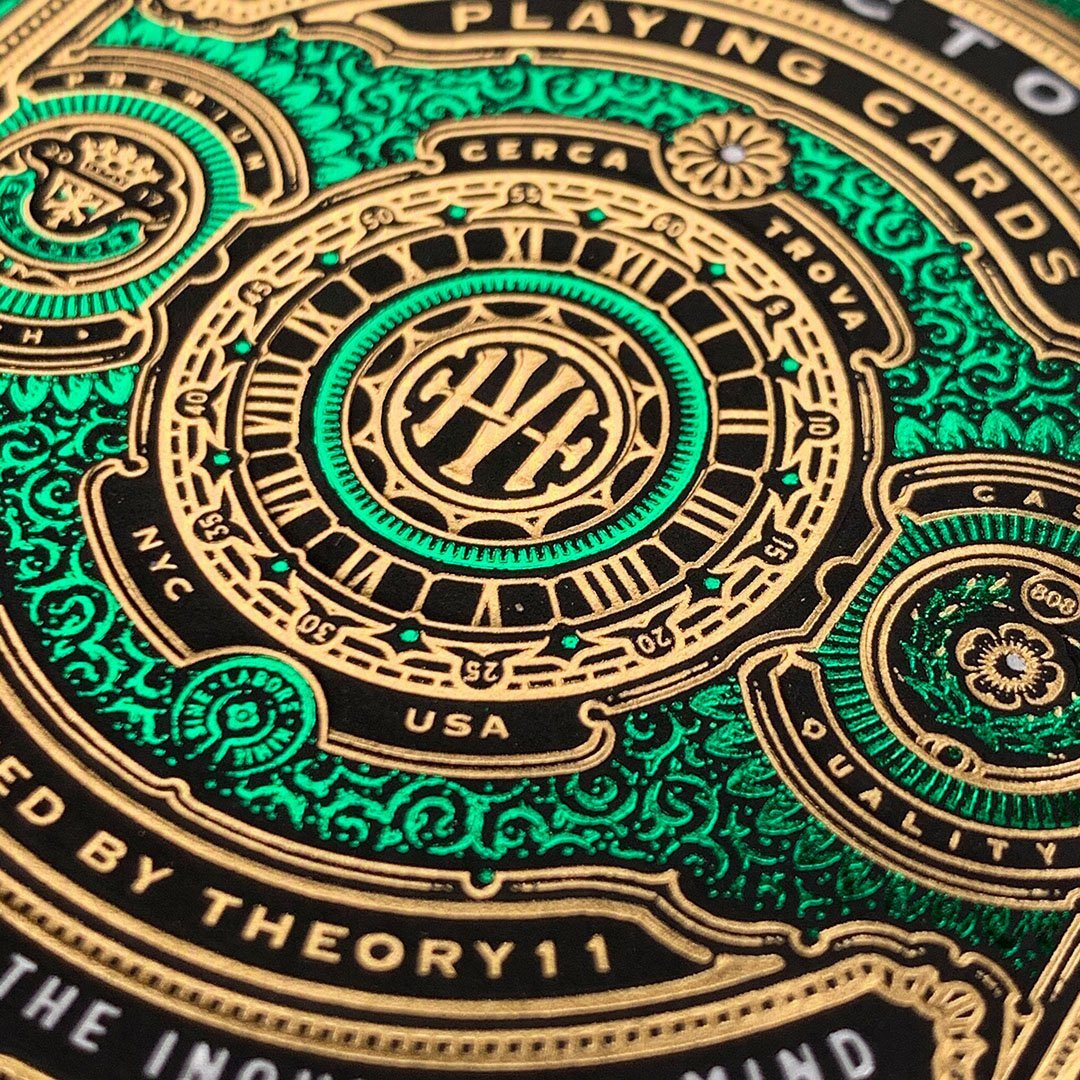 KEYWAY | Theory 11 - High Victoria Premium Playing Cards Macro Front