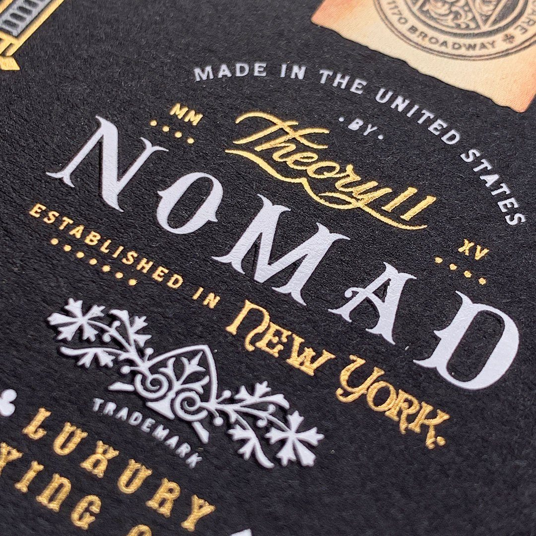 KEYWAY | Theory 11 - NoMad Premium Playing Cards Macro Front