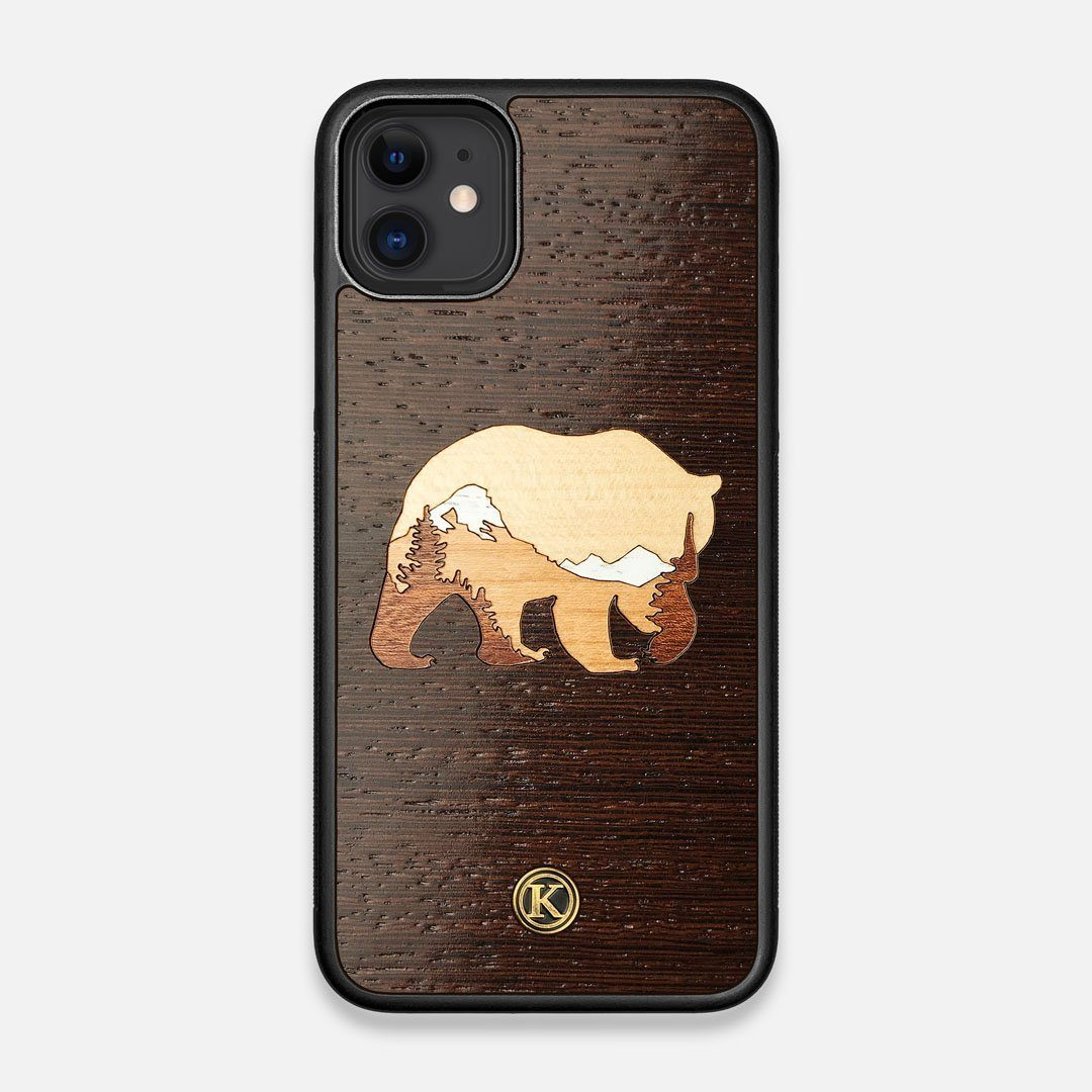 TPU/PC Sides of the Bear Mountain Wood iPhone 11 Case by Keyway Designs