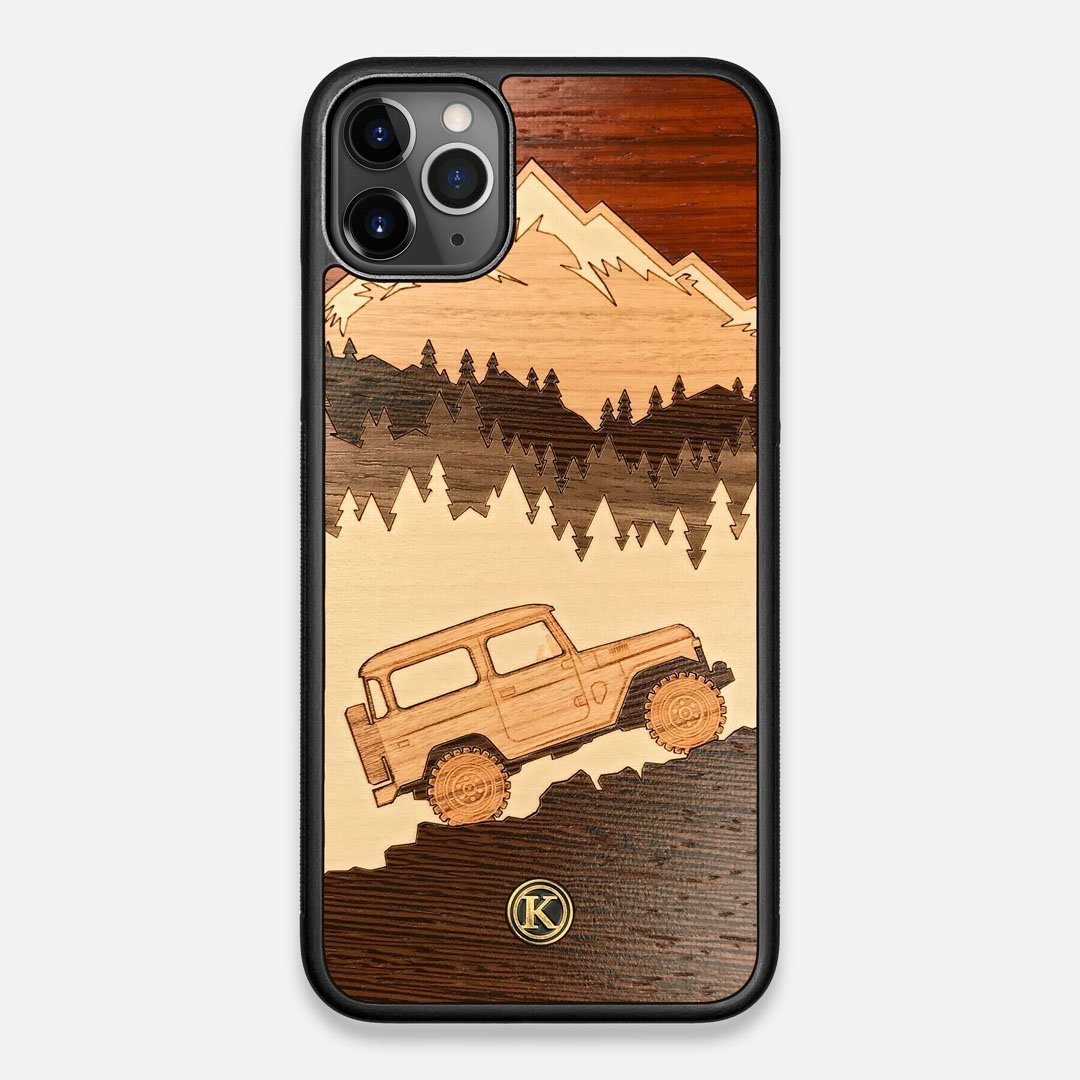 TPU/PC Sides of the Off-Road Wood iPhone 11 Pro Max Case by Keyway Designs
