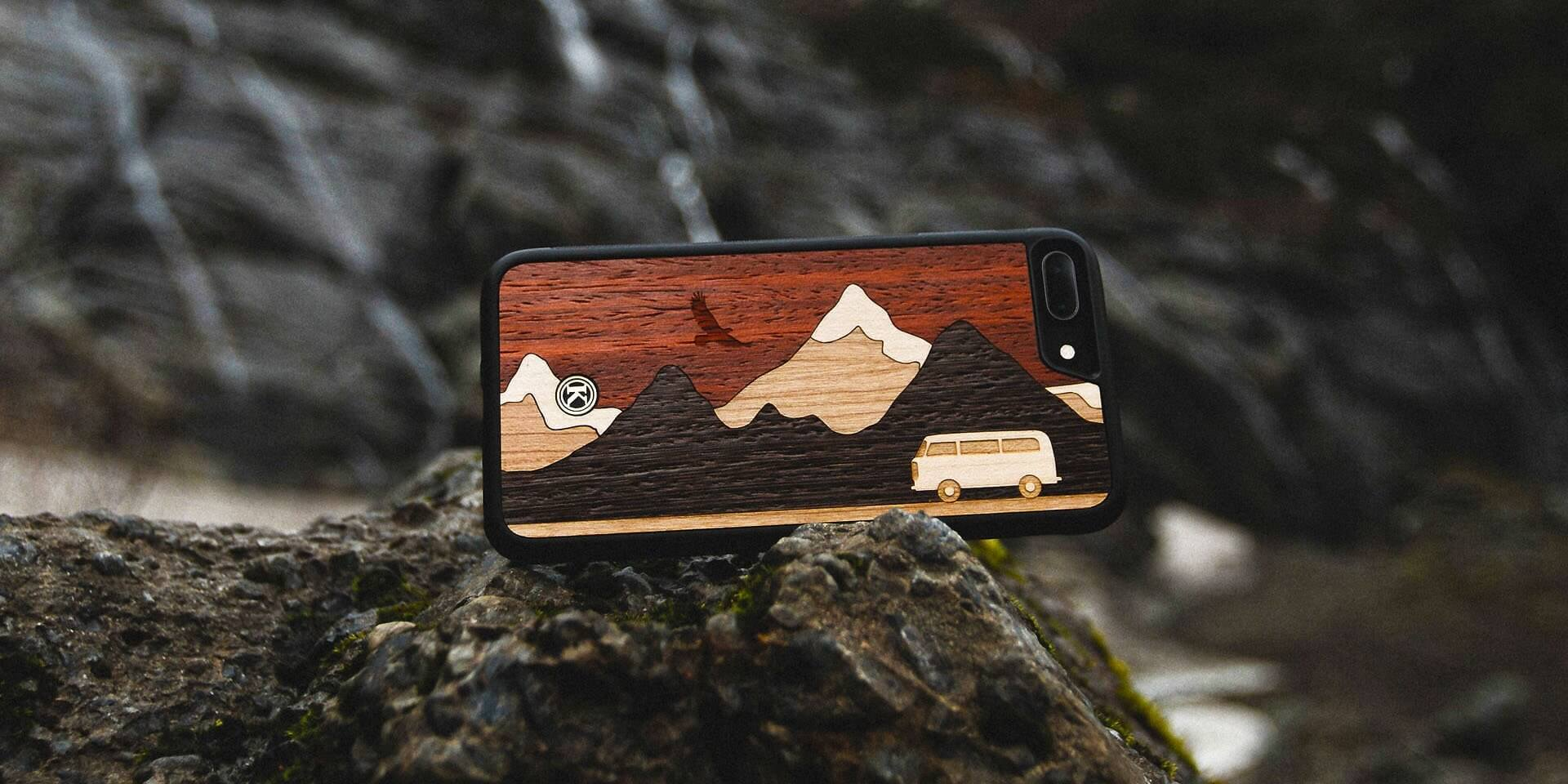 Wood iPhone Case and Leather iPhone Case by Keyway, Canada's unique Genuine Wood iPhone Cases