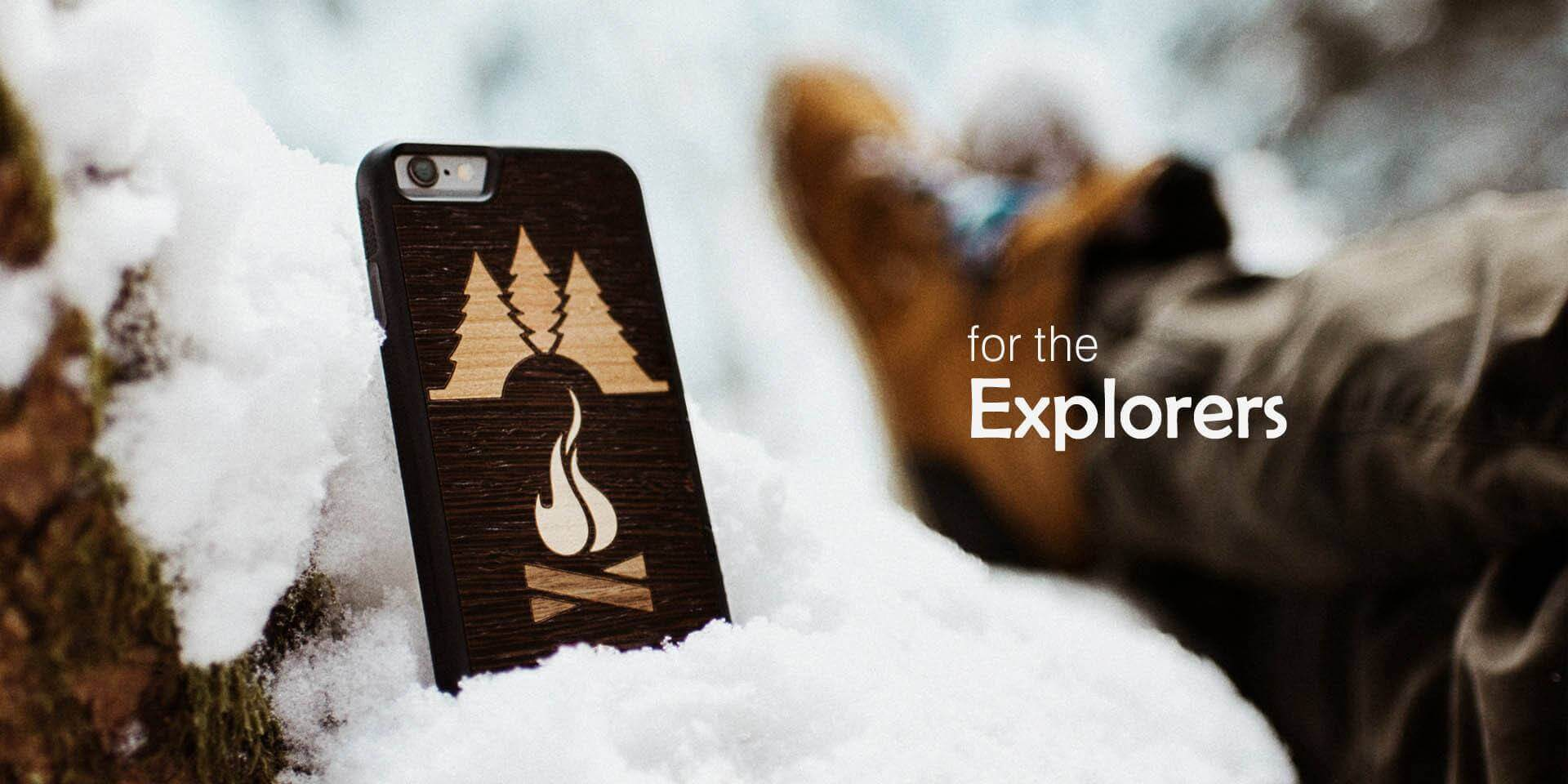 Wooden iPhone Cases and Leather iPhone Cases by Keyway, Canada's unique Genuine Wood iPhone Cases