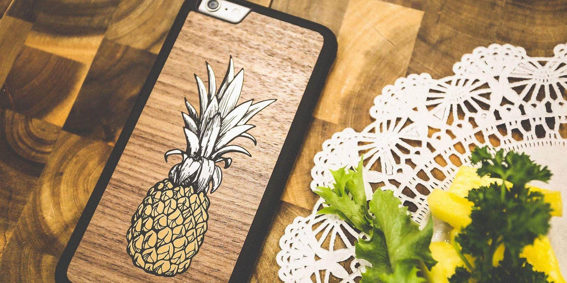 Leather iPhone Cases by Keyway, Canada's unique Genuine Wood iPhone Cases