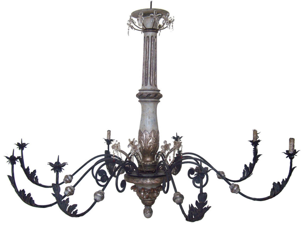 18th century italian chandelier interi 18th century italian chandelier aloadofball Images