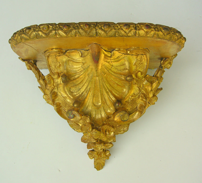 Georgian Gold-Leaf Sconces