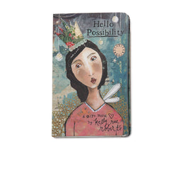 Kelly Rae Roberts Gift Book-Hello Possibility