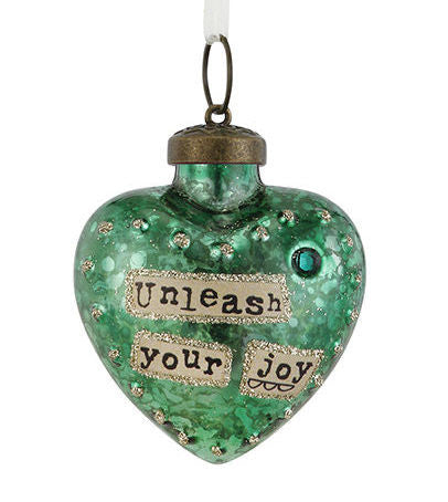 Kelly Rae Roberts Glass Birthday Wish Ornament-May