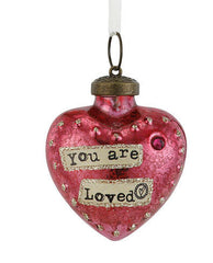 Kelly Rae Roberts Glass Birthday Wish Ornament-July