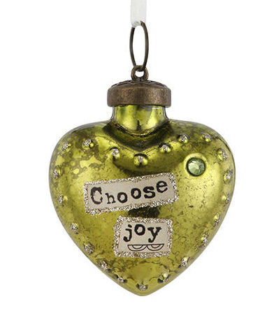 Kelly Rae Roberts Glass Birthday Wish Ornament-August