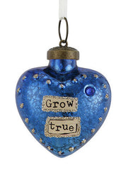 Kelly Rae Roberts Glass Birthday Wish Ornament-September