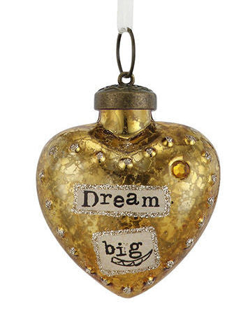 Kelly Rae Roberts Glass Birthday Wish Ornament-November