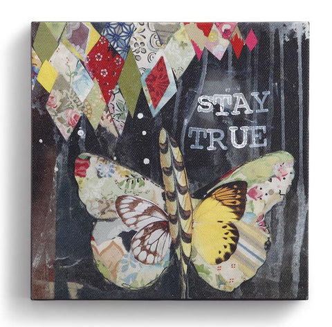 "Kelly Rae Roberts 6"" Wall Art- Stay True"