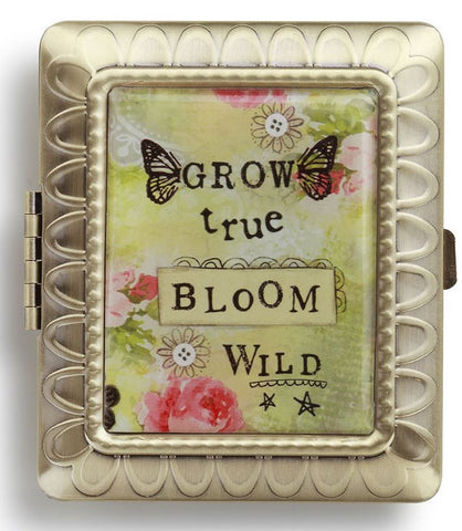 Kelly Rae Roberts Compact Mirror Bloom