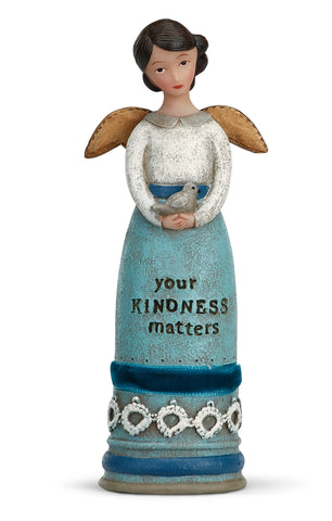 Kelly Rae Roberts Winged Inspiration Angel Figure- Your Kindness Matters