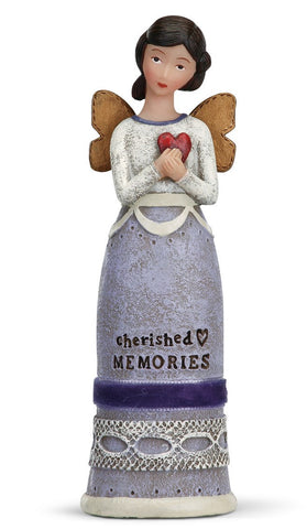 Kelly Rae Roberts Winged Inspiration Angel Figure- Cherished Memories