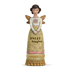 Kelly Rae Roberts Winged Inspiration Angel Figure- Sweet Daughter