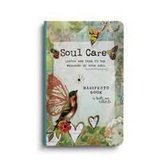 Kelly Rae Roberts Manifesto Magnet Gift Book-Soul Care