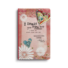Kelly Rae Roberts Manifesto Magnet Gift Book-I Heart Your Heart