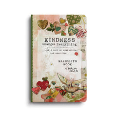 Kelly Rae Roberts Manifesto Magnet Gift Book-Kindness