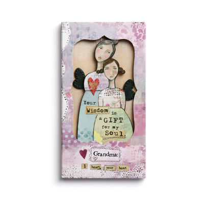 Kelly Rae Roberts Ornament Card- Grandma