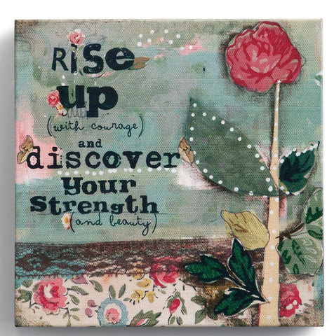 "Kelly Rae Roberts 6"" Wall Art- Rise Up"