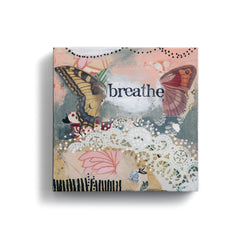 "Kelly Rae Roberts 6"" Wall Art- Breathe Butterfly"