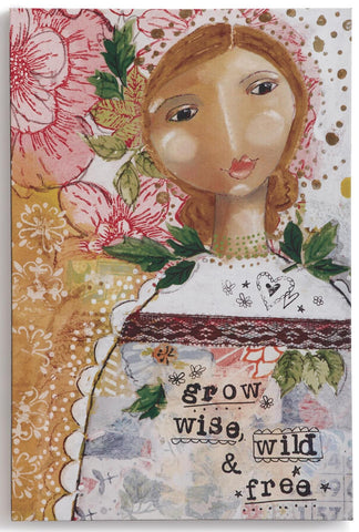 "Kelly Rae Roberts 8""x 12"" Wall Art-Grow Wise"