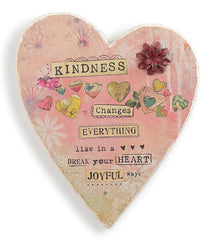 Kelly Rae Roberts Wall Heart-Kindness Matters