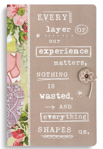 Kelly Rae Roberts Paper Journal-Everything Shapes Us