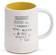 Kelly Rae Roberts Permission Granted Mug - Emerge