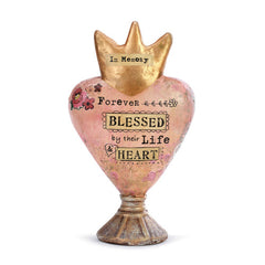 Kelly Rae Roberts Heart Sculpture- Forever Blessed