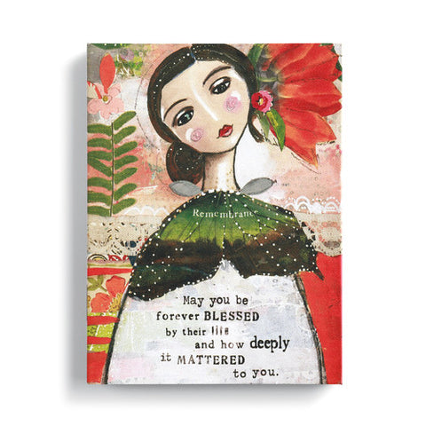 "Kelly Rae Roberts 6"" x 8"" Wall Art- Forever Blessed"