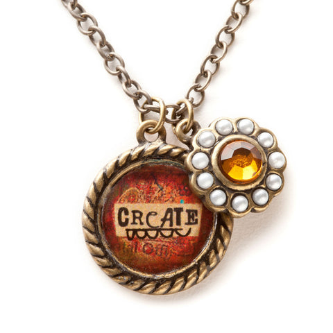 Kelly Rae Roberts Necklace Charm-Create **