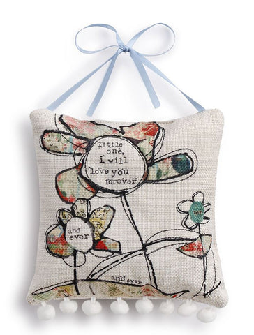 Kelly Rae Roberts Pillow Wall Art- Flower