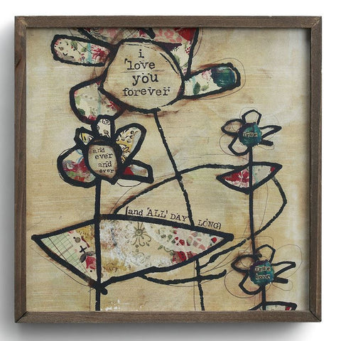 Kelly Rae Roberts Canvas Wall Art -Flower