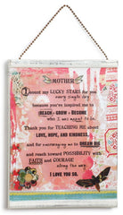 Kelly Rae Roberts Message Wall Plaque - Mother
