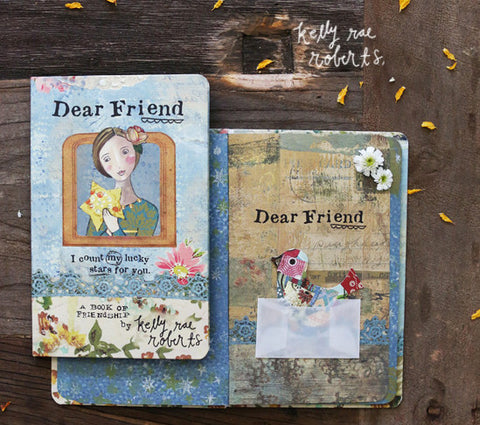 Kelly Rae Roberts Gift Book-Dear Friend